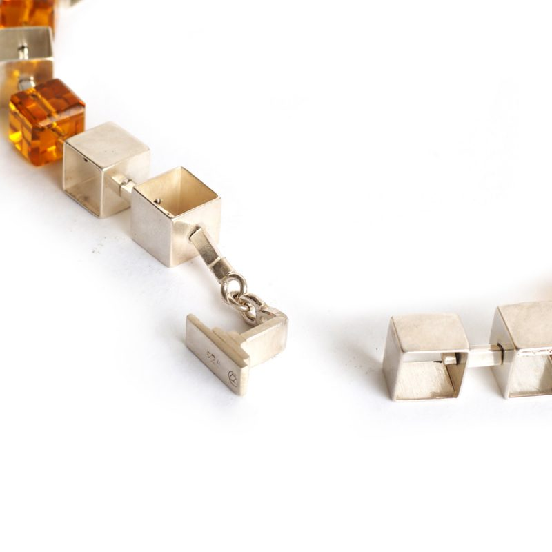 Cubed Chain clasp