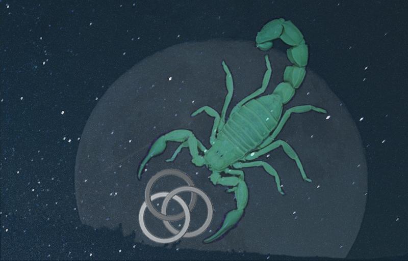 Scorpio and the law of threefold return