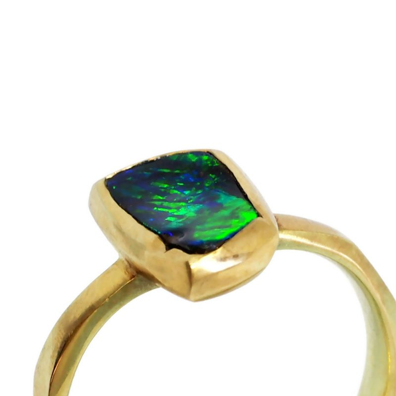 Detail of Australian Boulder opal