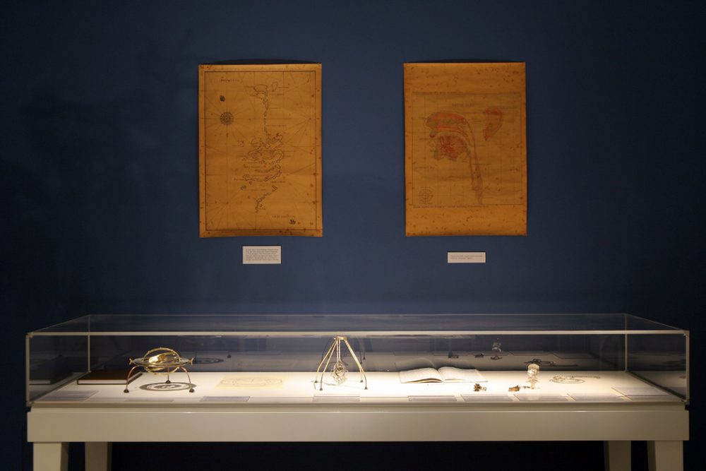 Display of Maps and Instruments